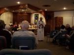 Rev. Jose' gives the sermon at Palo Cristi.