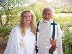 Revs. Kebba and Jose' at Palo Cristi