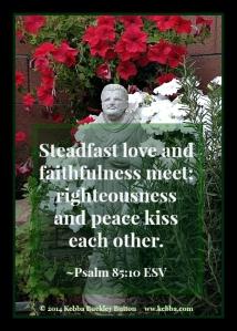 Stress, Calvary, integrity, Peace Within, love, faith