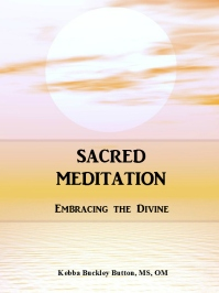 meditation, Sacred Meditation, stress, Embracing the Divine, Upbeat Spiritual Living, Rev. Kebba Buckley Button